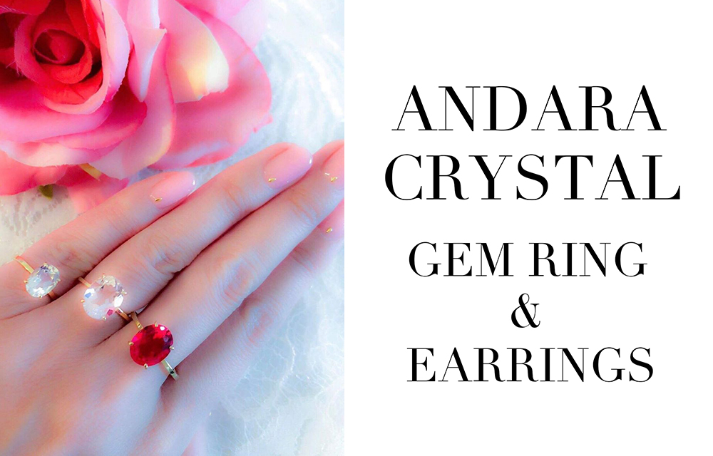 ANDARA CRYSTAL Earrings