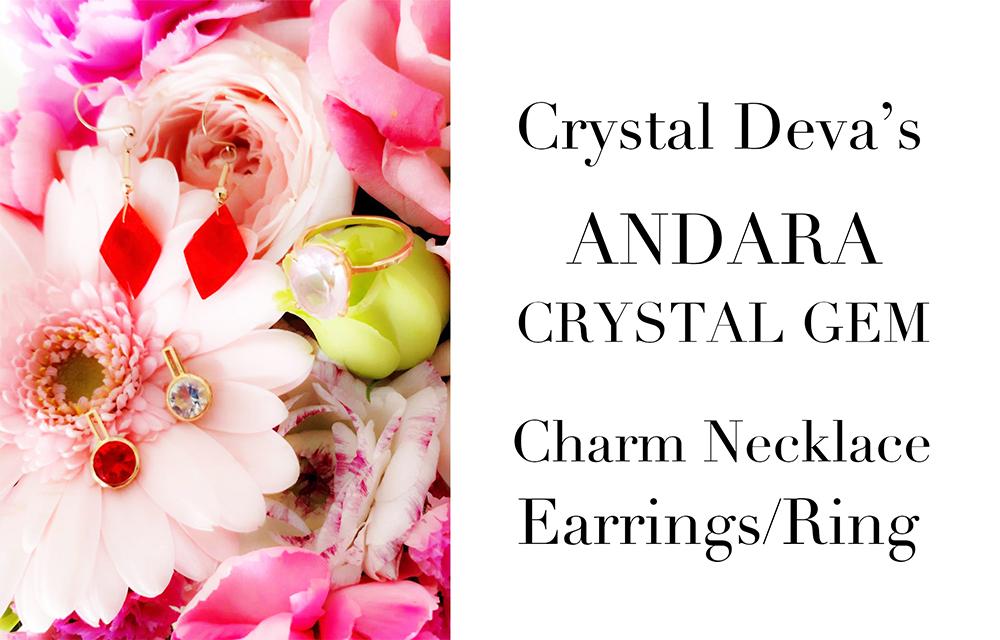 ANDARA CRYSTAL Earrings